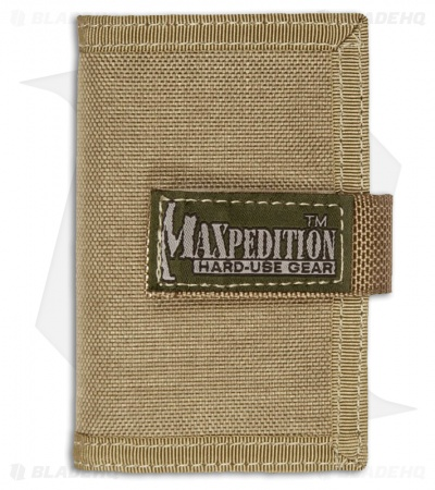 Maxpedition Urban Wallet Khaki Low Profile ID Holder 0217K