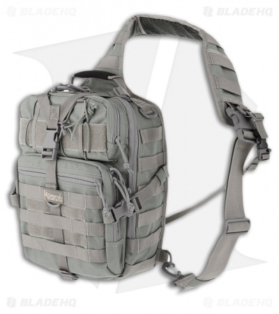 Maxpedition Malaga Gearslinger Foliage Green Shoulder Pack Hydration Bag 0423F