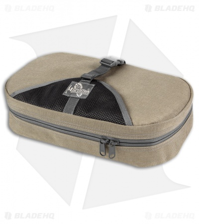 Maxpedition Tactical Toiletry Bag Khaki / Foliage Travel Case 1810KF
