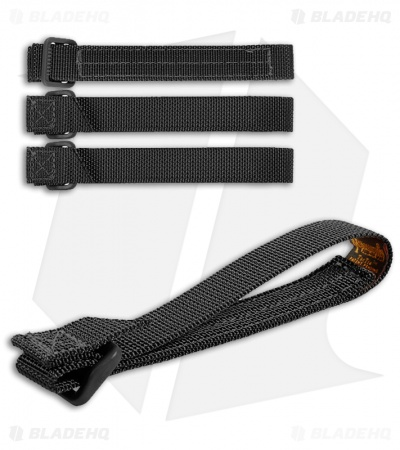 "Maxpedition 5"" TacTie Attachment Strap System (Pack of 4) Black 9905B"