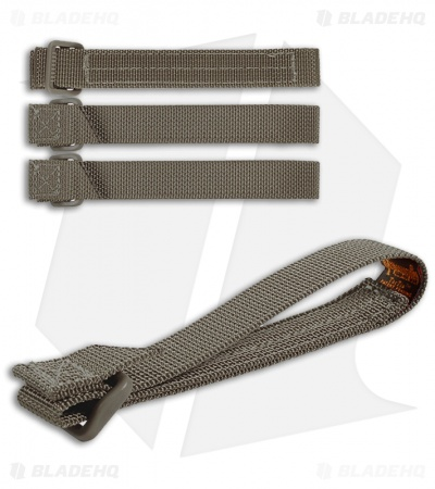 "Maxpedition 5"" TacTie Attachment Strap System (Pack of 4) Foliage Green 9905F"