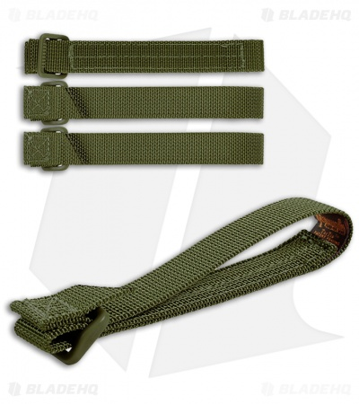 "Maxpedition 5"" TacTie Attachment Strap System (Pack of 4) OD Green 9905G"