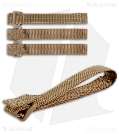 "Maxpedition 5"" TacTie Attachment Strap System (Pack of 4) Khaki 9905K"