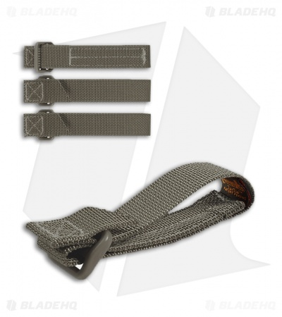 "Maxpedition 3"" TacTie Attachment Strap System (Pack of 4) Foliage Green 9903F"