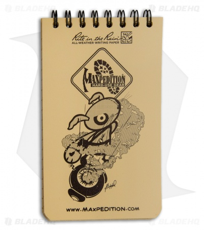 "Maxpedition Rite in the Rain Pocket Notebook (3"" x 5"") Tan"