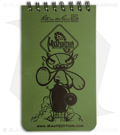 "Maxpedition Rite in the Rain Pocket Notebook (3"" x 5"") Green"
