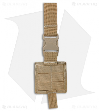 Maxpedition Mini Drop Leg Rig PALS Panel Khaki PT1170K