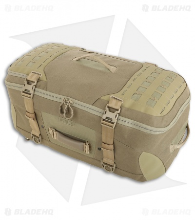 Maxpedition Ironstorm Backpack 62L Adventure Travel Bag Tan RSMTAN
