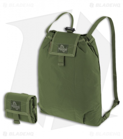 Maxpedition Rollypoly Folding Backpack OD Green 0230G