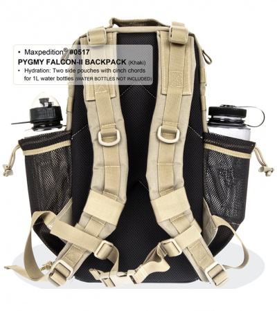 Maxpedition Pygmy Falcon II Black Backpack 0517B