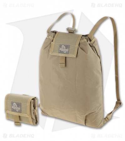Maxpedition Rollypoly Folding Backpack Khaki 0230K