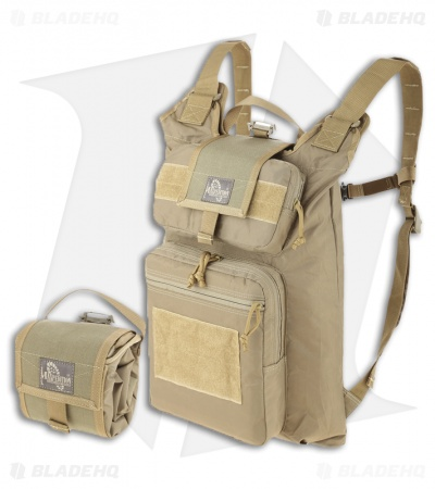 Maxpedition RollyPoly Extreme Backpack Khaki Folding Pouch 0233K