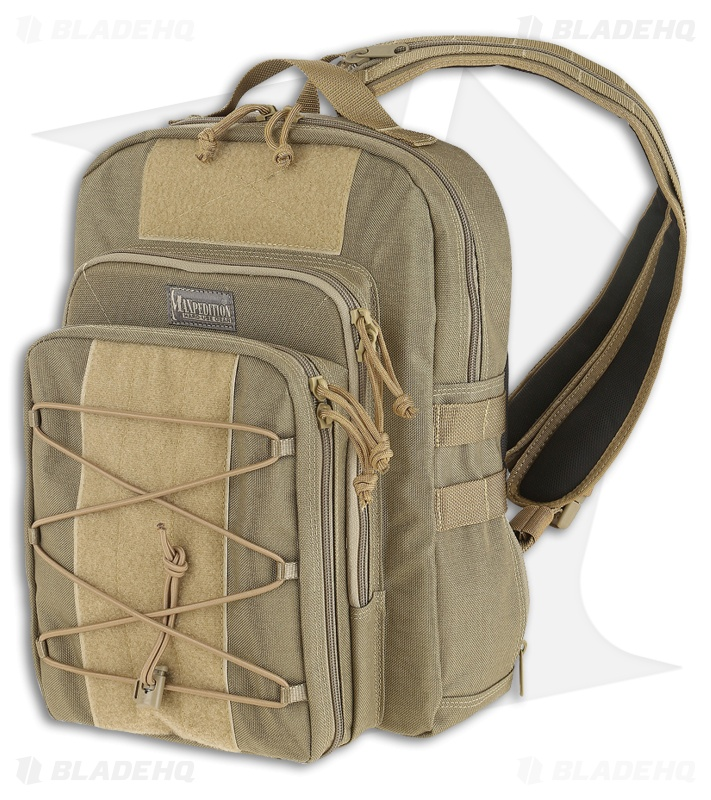 e763c127bc46 Maxpedition Duality Convertible Sling Bag Backpack Khaki PT1063K - Blade HQ