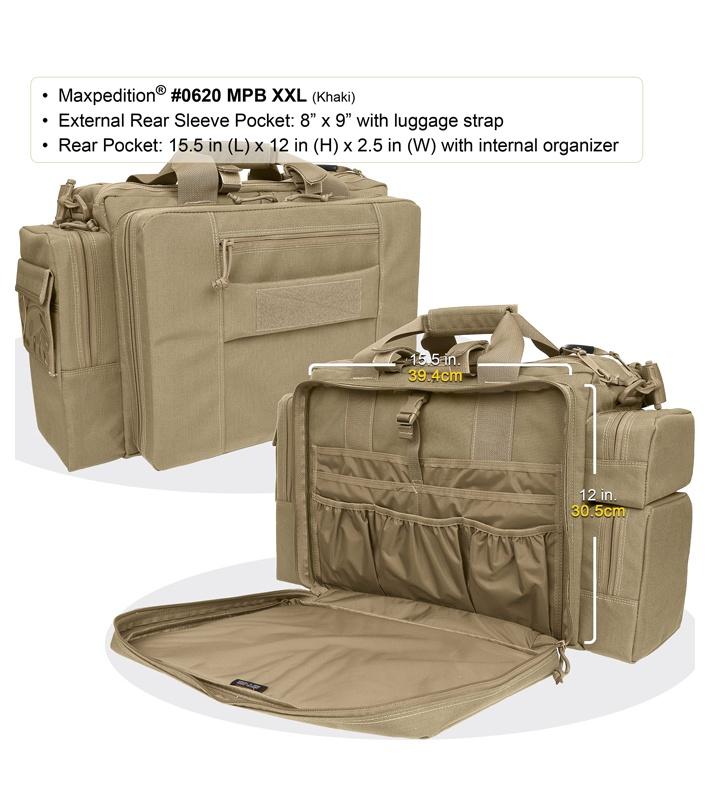 Maxpedition Mpb L Gear Multipurpose Bag Khaki 0620k