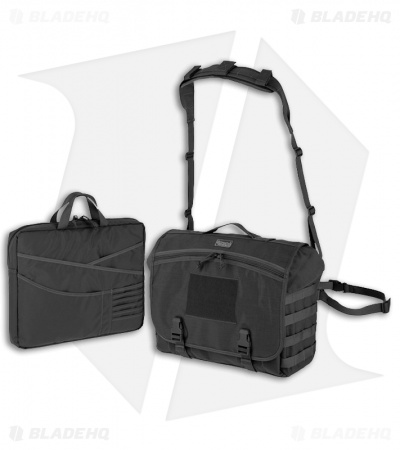 Maxpedition Vesper Messenger Black Bag 0623B