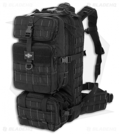 Maxpedition Gyrfalcon Backpack w/ Waistpack Bag Black PT1054K