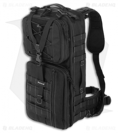 Maxpedition Pecos Gearslinger Large Shoulder Sling Pack CCW Bag Black PT1062B