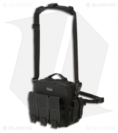 Maxpedition Mag Bag Triple Active Shooter Response Black Pack PT1072B