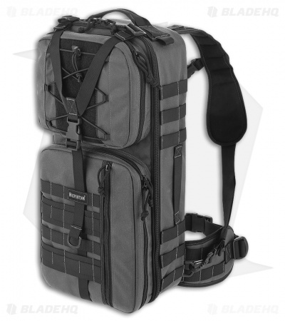 Maxpedition Pecos Gearslinger Large Shoulder SlingPack CCW Bag Wolf Gray PT1062W