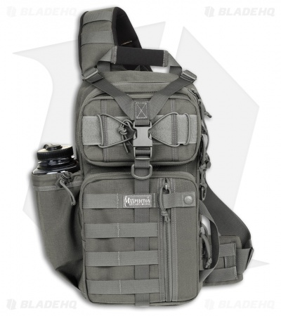 Maxpedition Sitka Gearslinger Foliage Green Shoulder Pack Hydration Bag 0431F