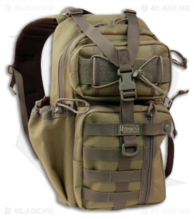 Maxpedition Sitka Gearslinger Khaki/Foliage Pack Hydration Bag 0431KF