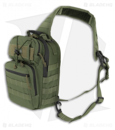 Maxpedition Lunada Gearslinger OD Green Shoulder Pack Bag 0422G