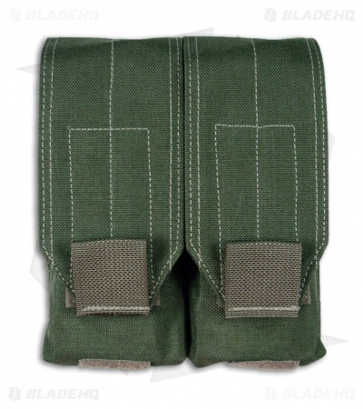 Maxpedition Double Stacked M4/M16 30-Round Mag Pouch OD Green 1438G