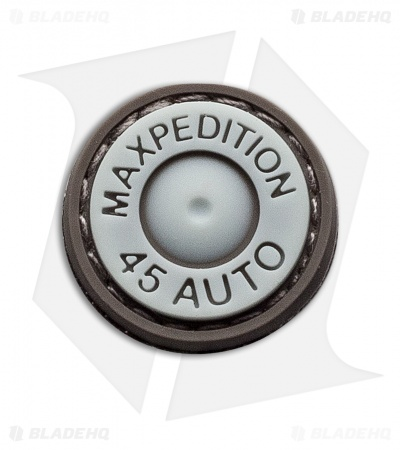 "Maxpedition 0.875"" Max .45 Auto PVC Patch (Glow)"