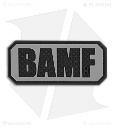 "Maxpedition 2.25"" x 1"" BAMF PVC Patch (SWAT) BAMFS"