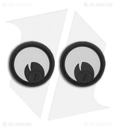 "Maxpedition 0.9"" x 0.9"" Googly Eyes PVC Patch (Swat) GOOGS"