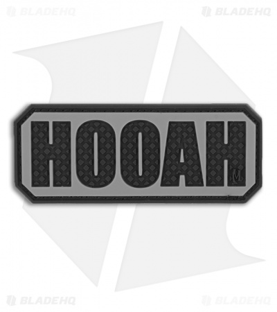 "Maxpedition 2.5"" x 1"" HOOAH PVC Patch (SWAT) HOOAS"