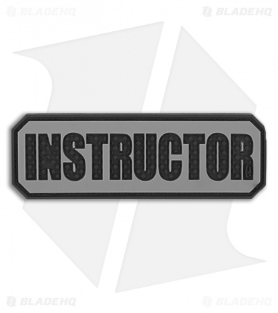 "Maxpedition 3"" x 1"" Instructor Morale PVC Patch (SWAT) INSTS"