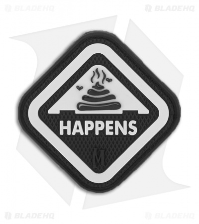 "Maxpedition 2"" x 2"" **It Happens PVC Patch (GLOW) ITHPZ"