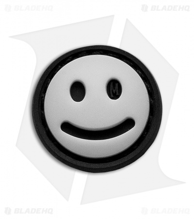 "Maxpedition 0.875"" Mini Happy Face PVC Patch (Glow)"