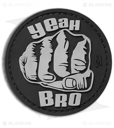 "Maxpedition 2.4"" Bro Fist PVC Patch (SWAT)"