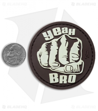 "Maxpedition 2.4"" Bro Fist PVC Patch (Glow)"
