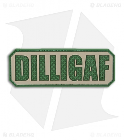 "Maxpedition 2.75"" x 1"" DILLIGAF PVC Patch (Arid) DLGFA"