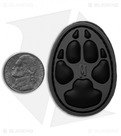 "Maxpedition 1.4"" x 2"" Dog Track PVC Patch (SWAT)"
