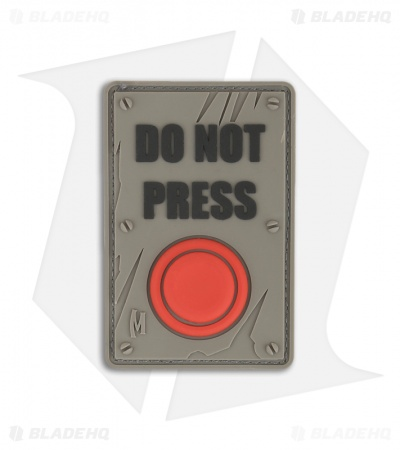 Maxpedition Do Not Press PVC Patch (Swat) DONPS