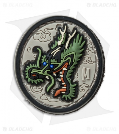 "Maxpedition 1.2"" x 1.3"" Dragon Head PVC Patch (Arid)"