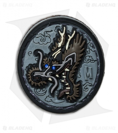 "Maxpedition 1.2"" x 1.3"" Dragon Head PVC Patch (SWAT)"