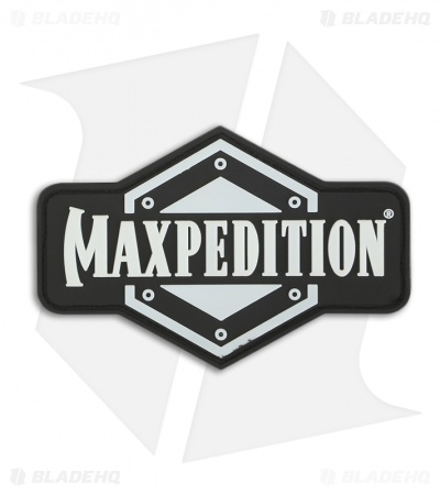 Maxpedition Full Logo PVC Patch (Glow) FLLGZ