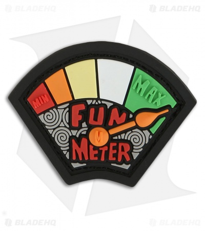 "Maxpedition 1.5"" x 1.2"" Fun Meter PVC Patch (Full Color)"