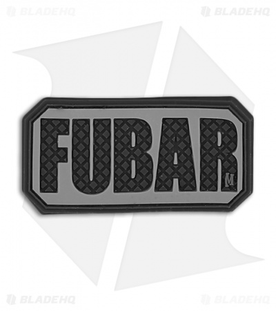 "Maxpedition 2"" x 1"" FUBAR PVC Patch (SWAT) FUBRS"