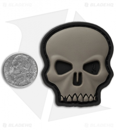 "Maxpedition 1.7"" x 2"" Hi Relief Skull PVC Patch (SWAT)"