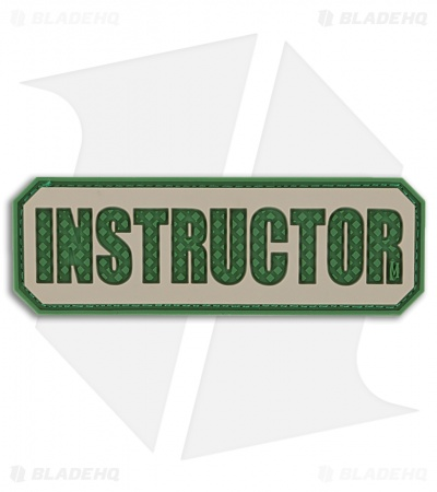 "Maxpedition 3"" x 1"" Instructor Morale PVC Patch (Arid)"