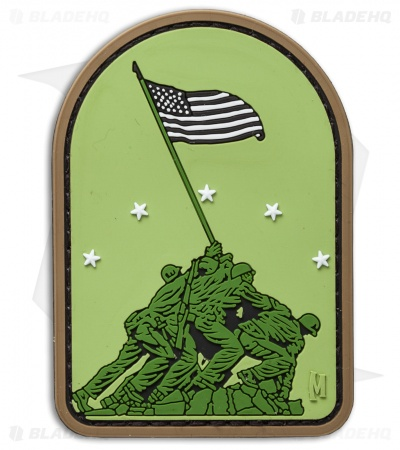 "Maxpedition 2.1"" x 3.0"" Iwo Jima PVC Patch (Arid)"
