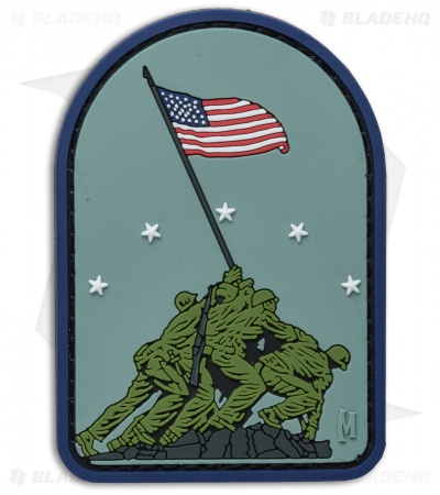 "Maxpedition 2.1"" x 3.0"" Iwo Jima PVC Patch (Full Color)"
