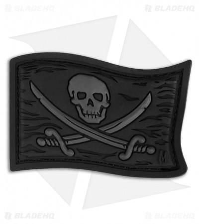 "Maxpedition 2.25"" x 1.5"" Jolly Roger PVC Patch (Stealth)"