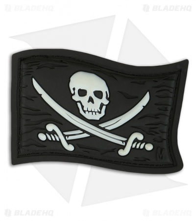 "Maxpedition 2.25"" x 1.5"" Jolly Roger PVC Patch (Glow)"